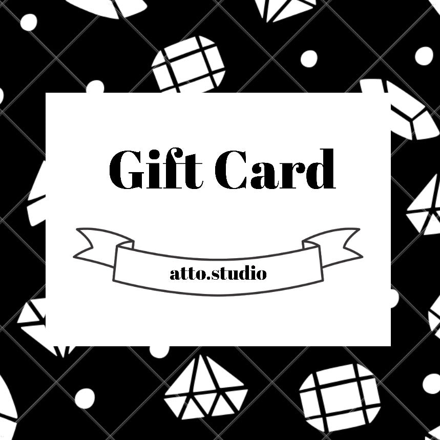 Gift Card - atto.studio