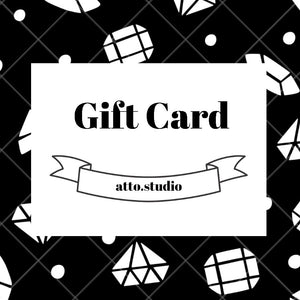 Load image into Gallery viewer, Gift Card - atto.studio