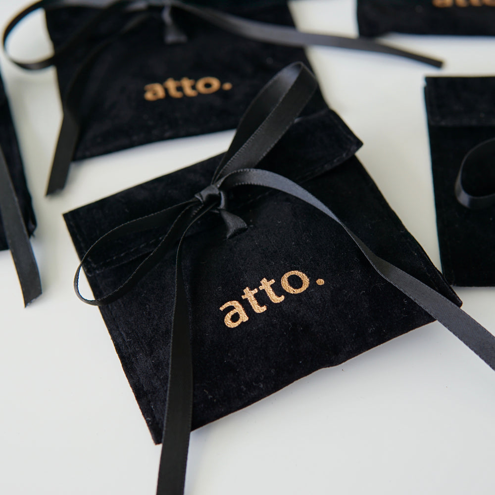 Alyssa Gold-plated Hoops - atto.studio