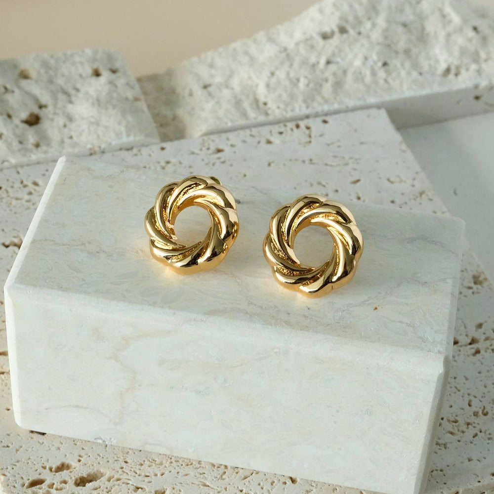 Load image into Gallery viewer, Veronica Stud Earrings