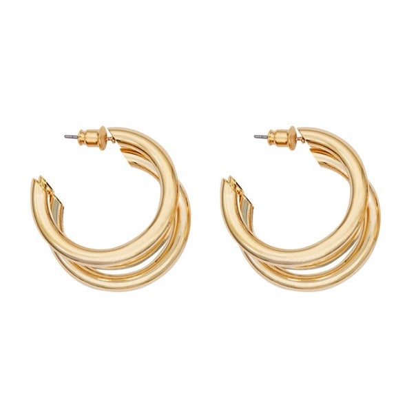 Trio Hoop Earrings (BACK IN STOCK)