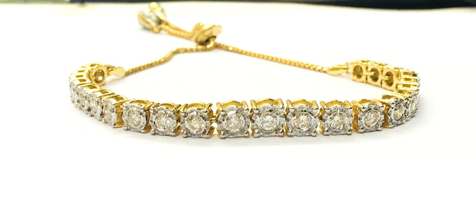Dazzling FINE CUT DIAMOND bracelets,Handmade Diamond Jewelry,Wedding collection , Bridal Gift ,Women Bracelets,Christmas Gift For Loved Ones
