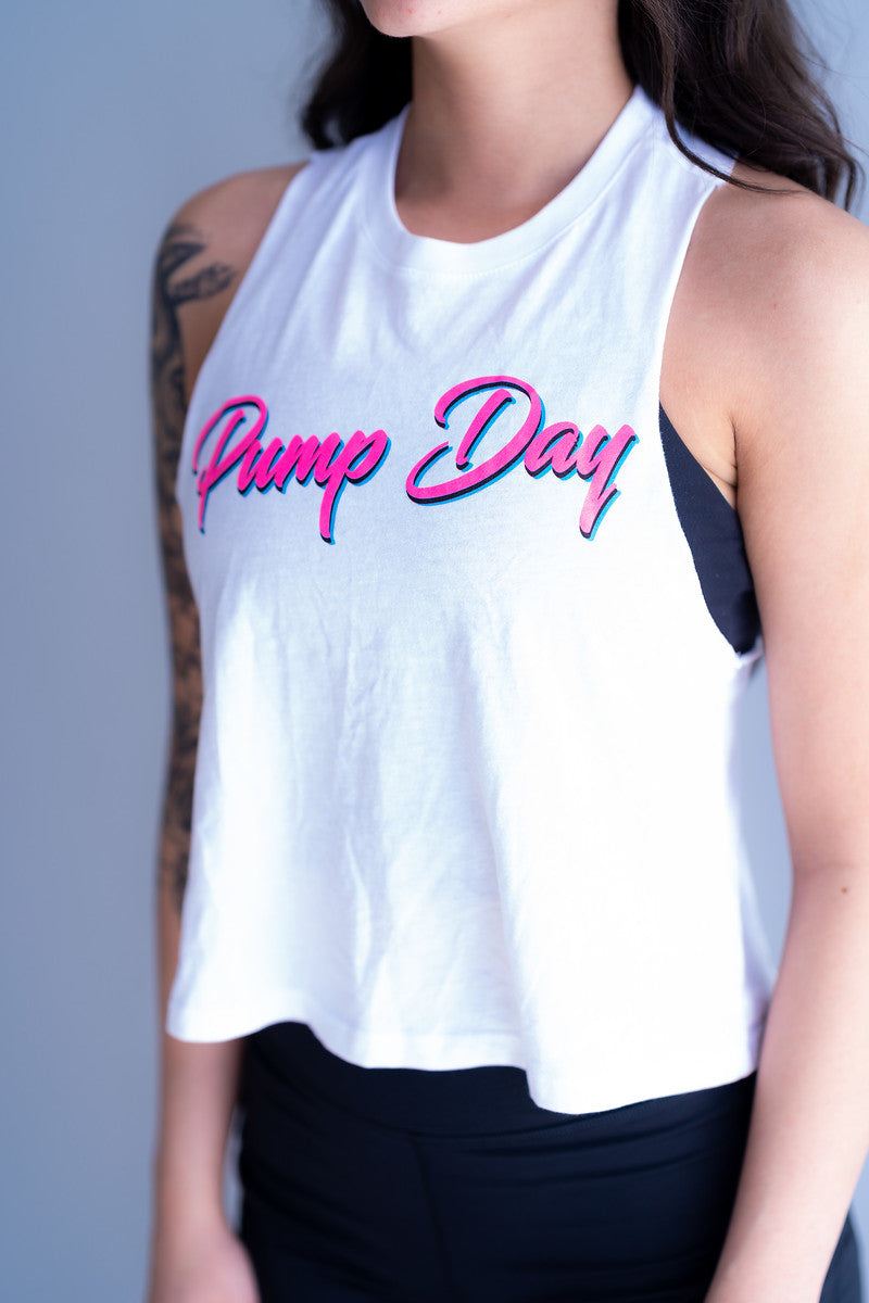Pump Day Crop Top