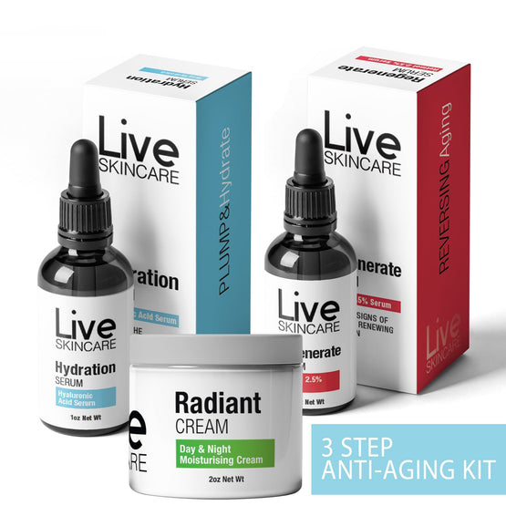 [50% Discount] Complete Anti-Aging Kit (Removes Wrinkles & Actively Fights Ageing)