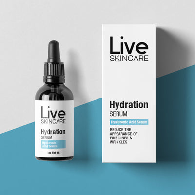 Hydrate Hyaluronic Acid Serum - Live Skincare
