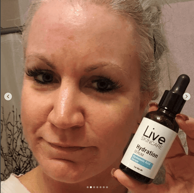 3 Month Supply - Hydrate Hyaluronic Acid Serum - Live Skincare