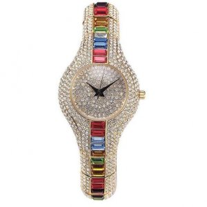 Iced Out Spectrum Watch