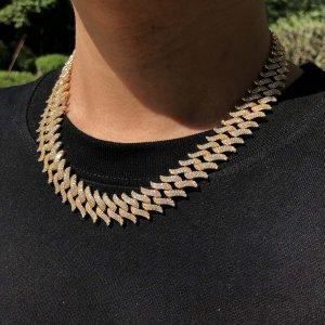 15mm Thorn Cuban Link Chain Twenty 7 Links Chains