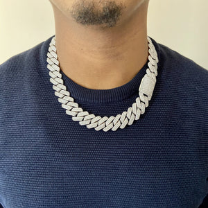 19mm prong set cuban link chain | Twenty 7 Links