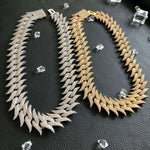 30mm Spiked Thorn Cuban Chain Twenty 7 Links Chains
