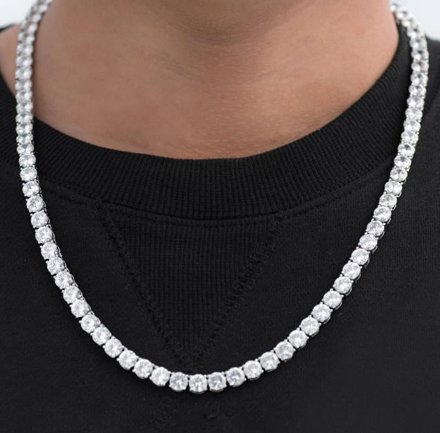 6mm Diamond Tennis Chain Twenty 7 Links