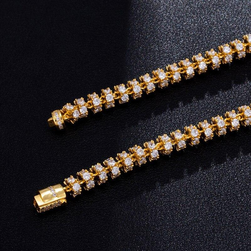6mm Round Tennis Chain Twenty 7 Links