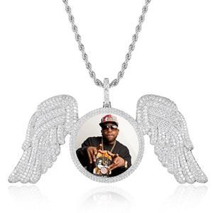 Angel Wing Picture Pendant Twenty 7 Links Custom