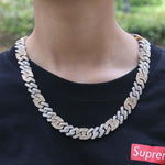 Baguette Gucci Cuban Link Chain Twenty 7 Links Chains