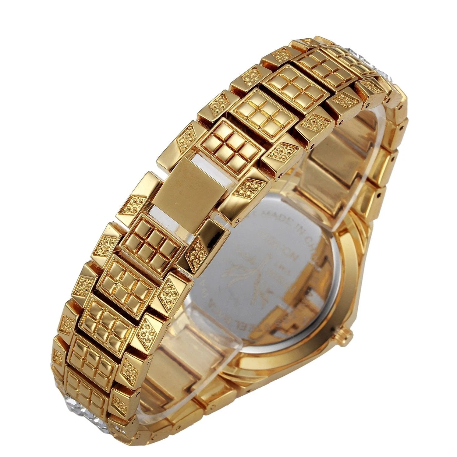 Baguette Quartz Diamond Watch Twenty 7 Links