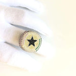 Black Star Ring Twenty 7 Links Rings