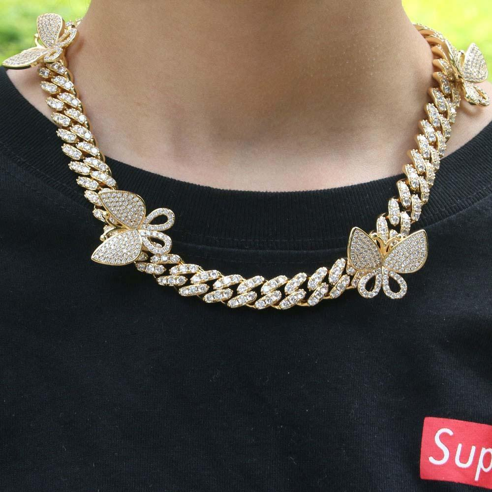 Butterfly Cuban Link Chain Twenty 7 Links Chains