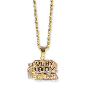 Everybody Eats Pendant Twenty 7 Links