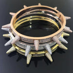Iced Spiked Bracelet Twenty 7 Links