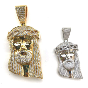 Jesus Piece Chain Twenty 7 Links Pendants