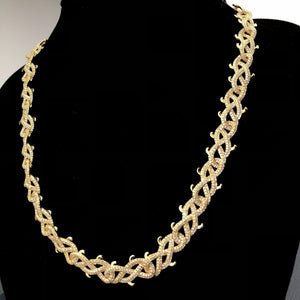Meek Mill Thorn Link Chain - Twenty 7 Links Twenty 7 Links Chains