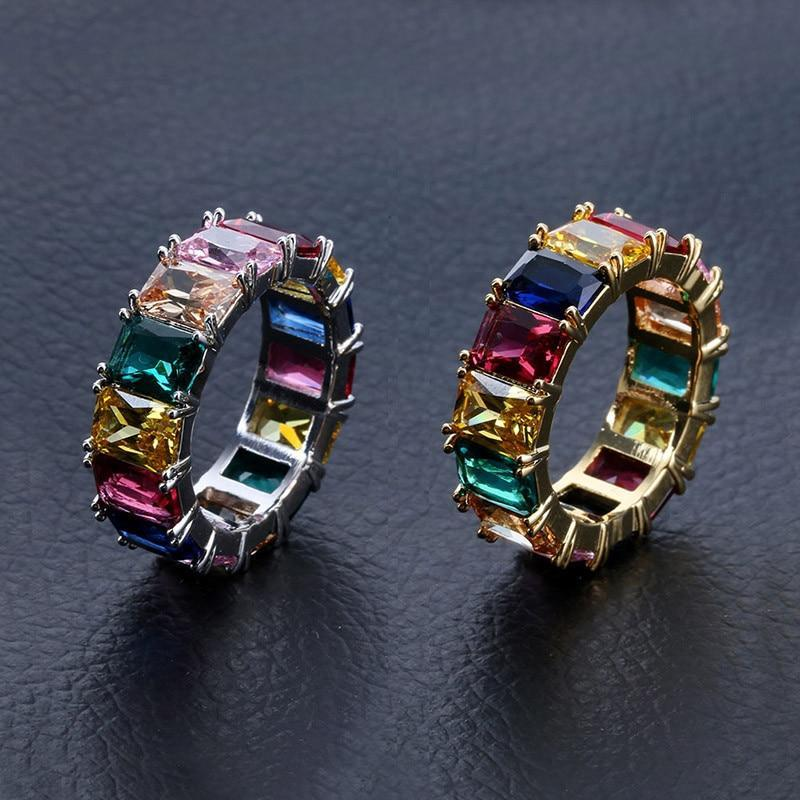 Muilti-coloured BMT Ring Twenty 7 Links Rings