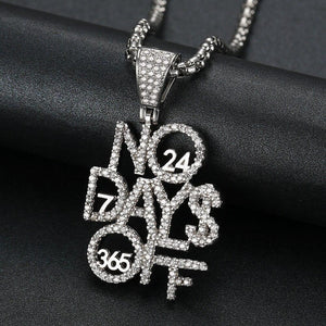 No Days Off Chain Twenty 7 Links