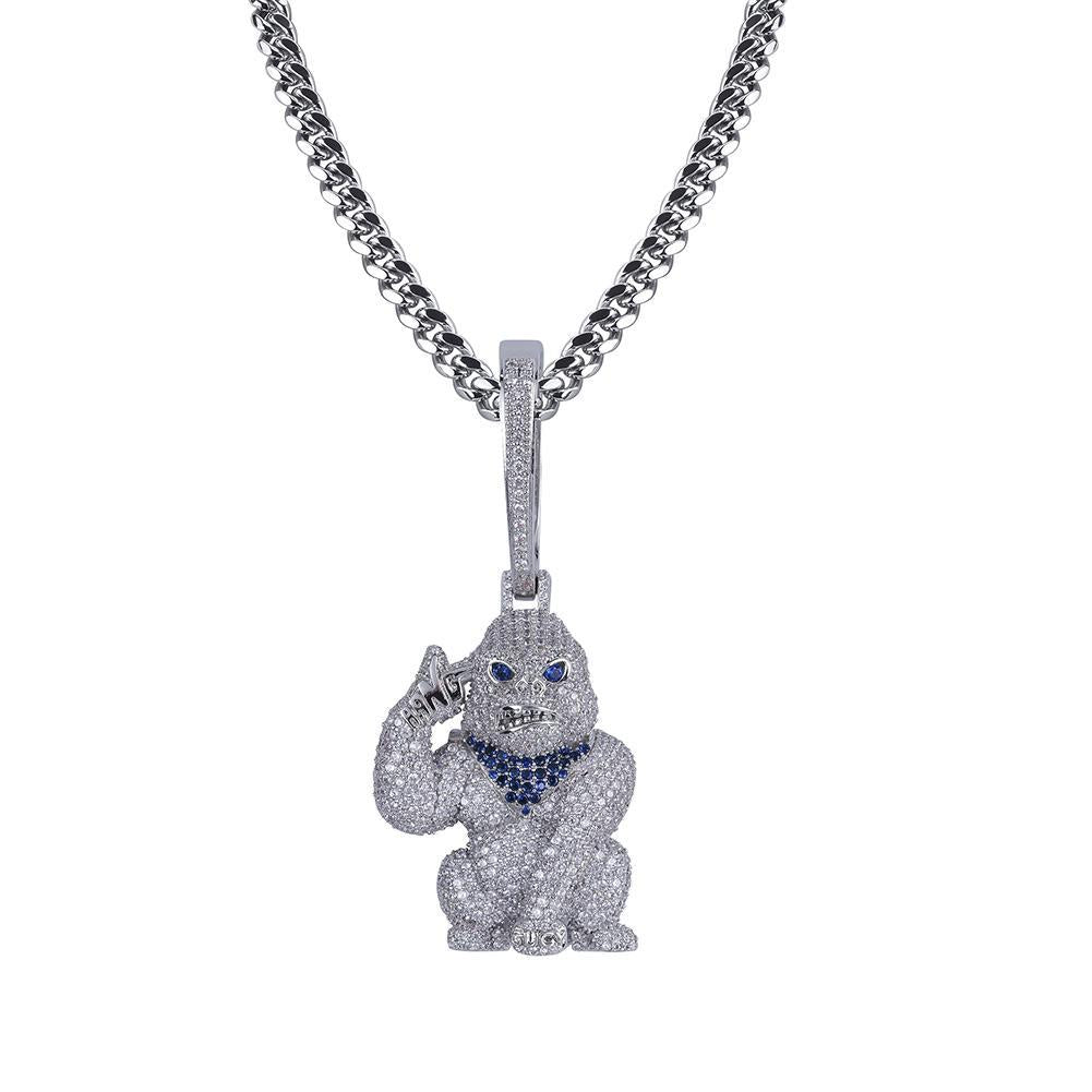 Orangutan G Pendant White Gold Twenty 7 Links Pendants