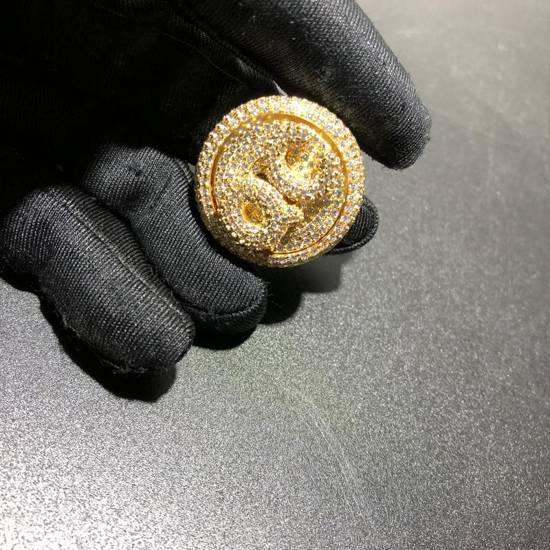 QC Custom Spinning Ring Twenty 7 Links Rings