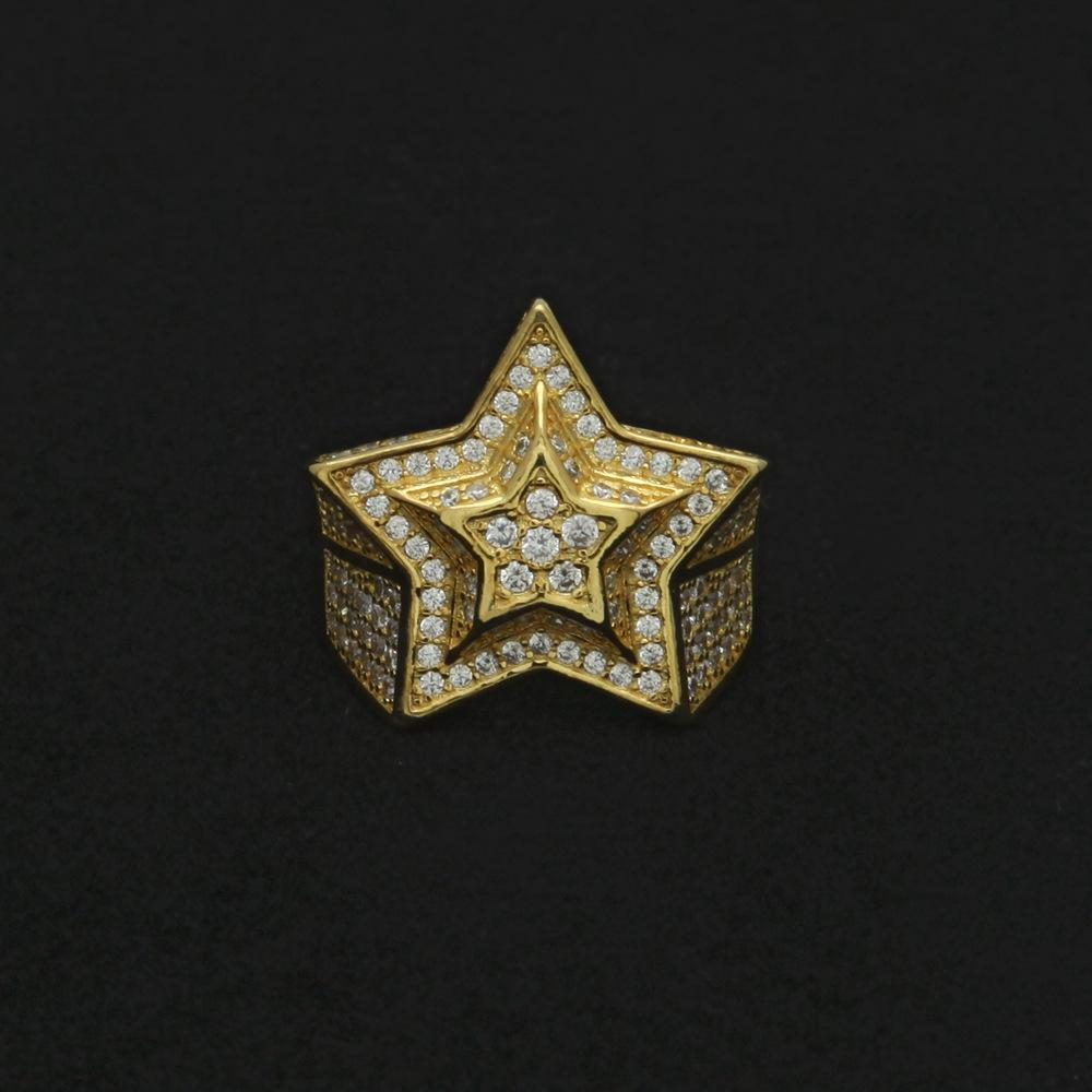 Star Ring Twenty 7 Links Rings
