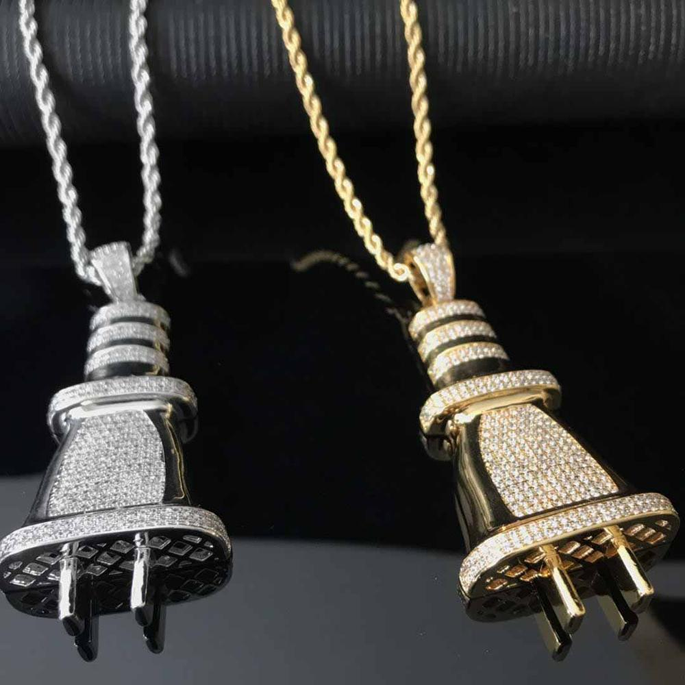 The Plug Chain Twenty 7 Links Pendants