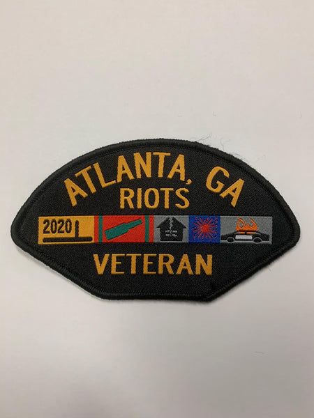 Veteran Riots Patch (Atlanta, GA)