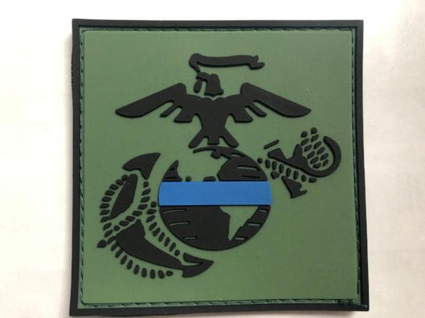EGA Green Velcro Patch