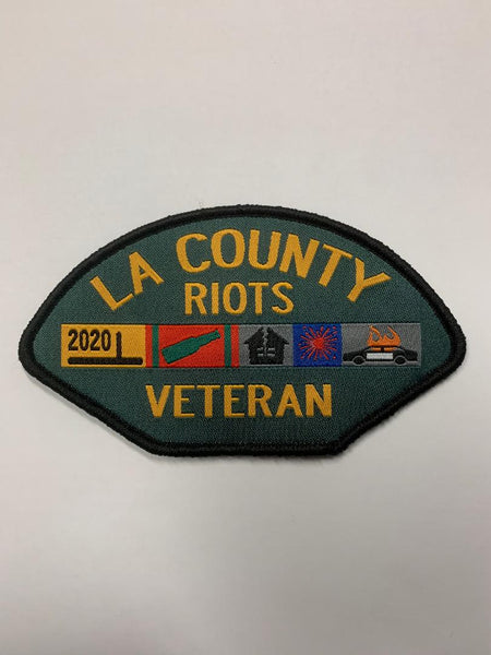 Veteran Riots Patch (Green LA County)