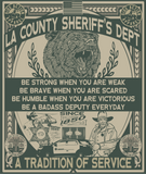 LASD County Sheriff's Blanket (Small)
