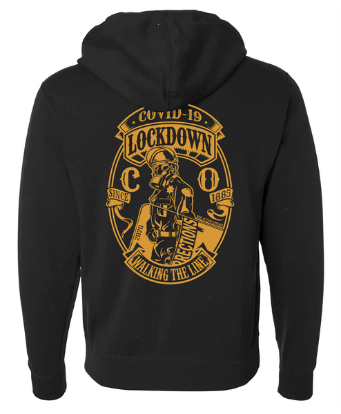 Corrections Black Lockdown Hoodie