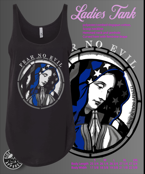 Fear No Evil Tank tops