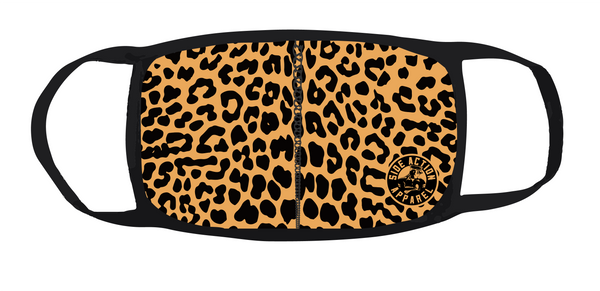 Leopard Fabric Mask (Adult)