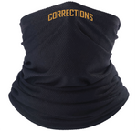 Black Corrections Face Guard