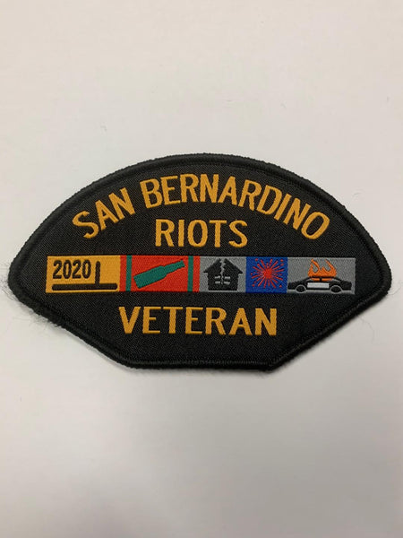 Veteran Riots Patch (San Bernardino)