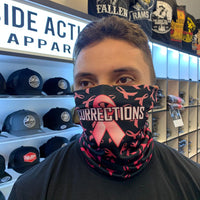 Pink/Black Corrections Face Guard