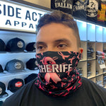 Pink/Black Sheriff Face Guard