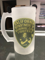 Cage Fighter Beer Mug
