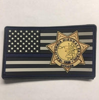 CHP BL Velcro Patch