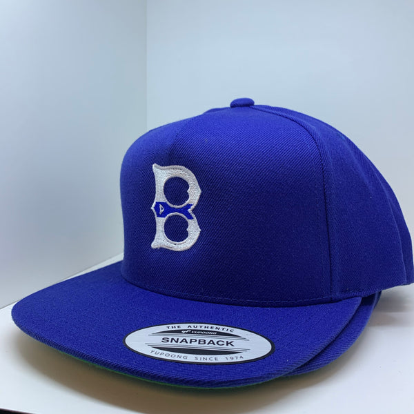 Blue Line B Flat Bill Hat