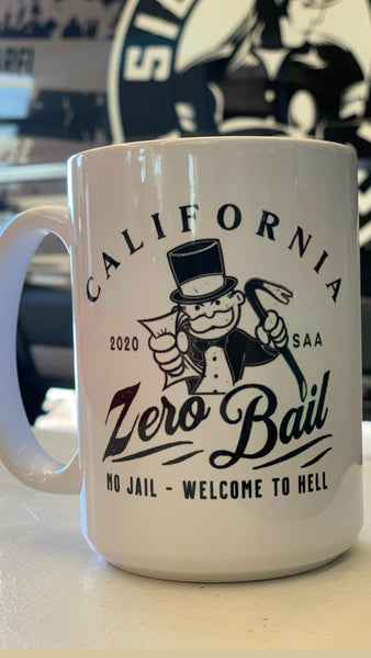 Zero Bail Coffee Mug