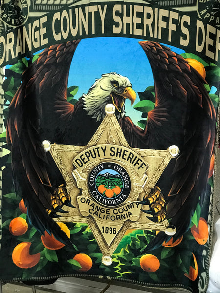 Orange County Sheriff's Blanket (Small)