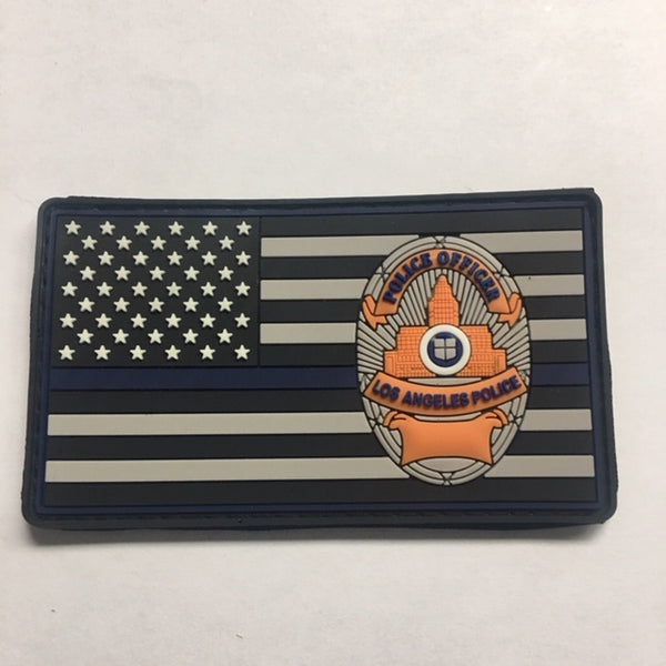 LAPD BL Velcro Patch