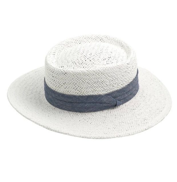 White Brim : Hat