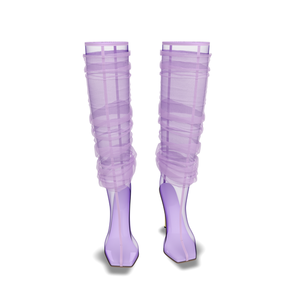 Lady Lavender : Boots 003 (PRE ORDER est SHIP May 21)